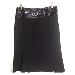 Belted Flair Skirt by INSIGHT Size 6